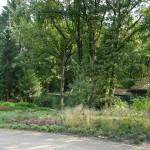 Tuin in natuurgebied
